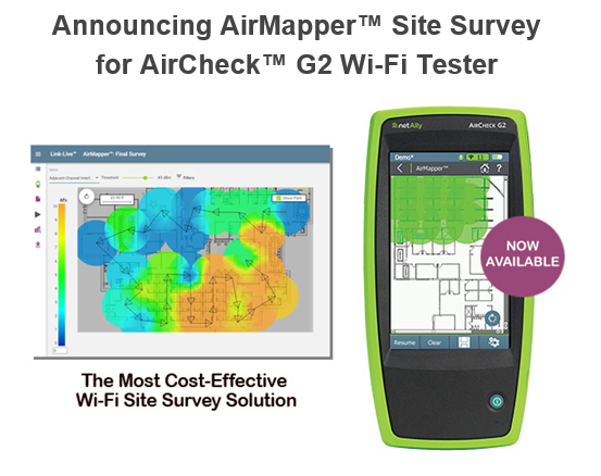 The Most Cost-Effective Wi-Fi Site Survey Solution